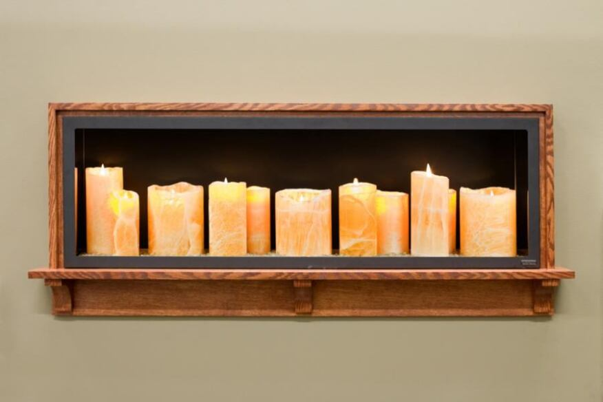 Electric Candle Fireplace Ideas