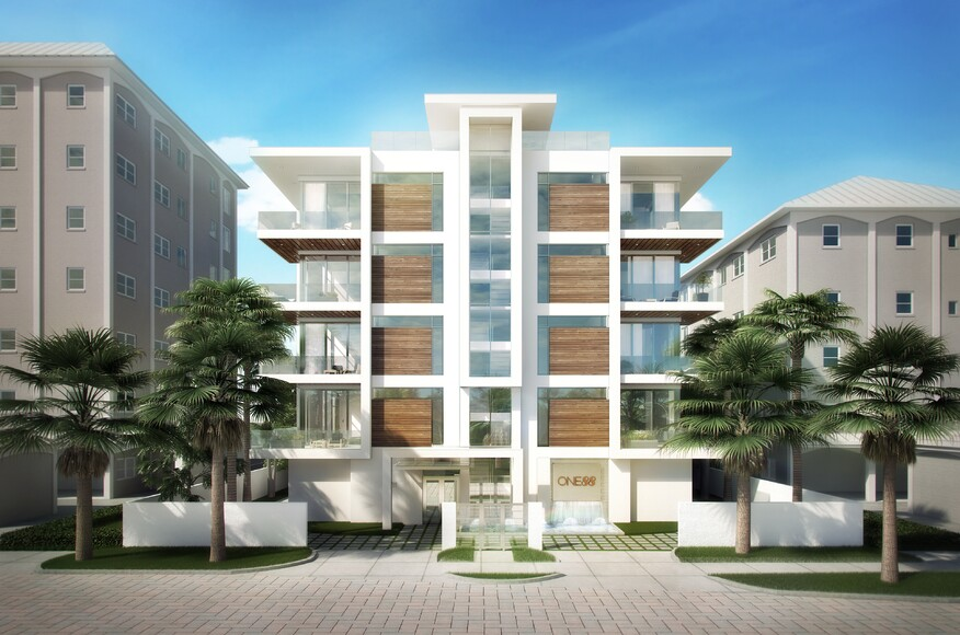 One88 residential architect dsdg architects sarasota for Modern view decking