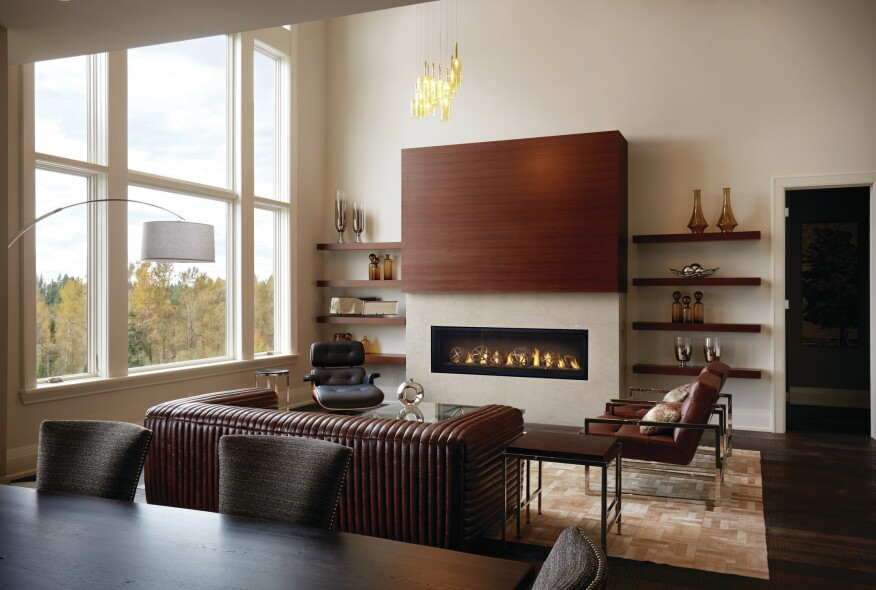 New Napoleon Fireplace Eliminates Need For Safety Screen Builder