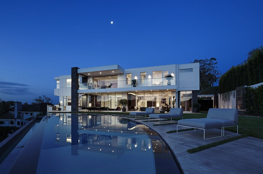 Bel air rd residence bel air residential architect for Modern view decking