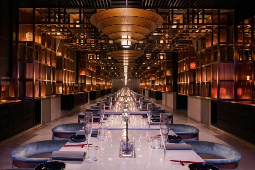 2019 Al Design Awards The Peacock Room Restaurant In