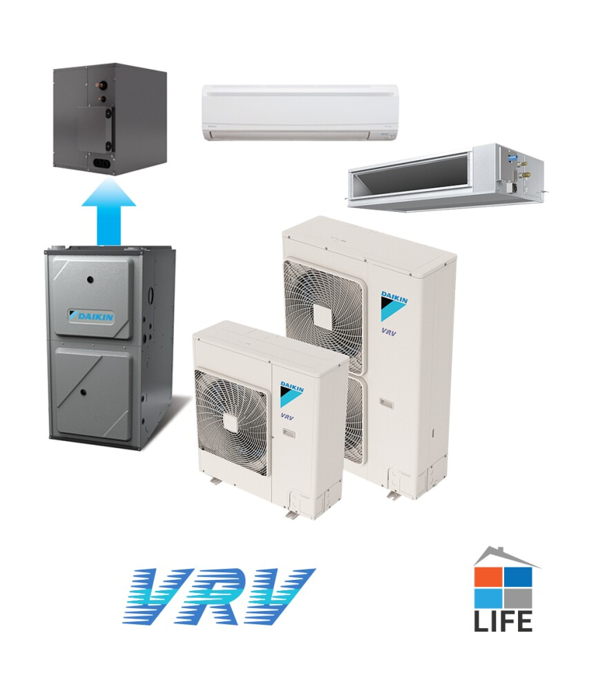 Eight Ductless Mini Split Systems For New Homes Builder
