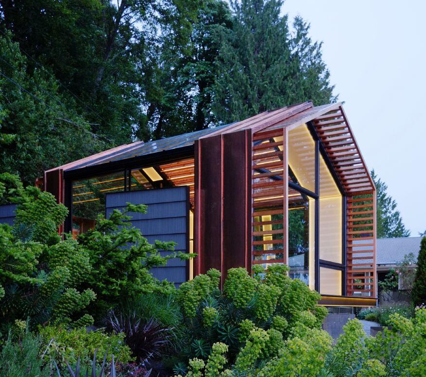 Garage, Vashon, Wash., Designed By Graypants