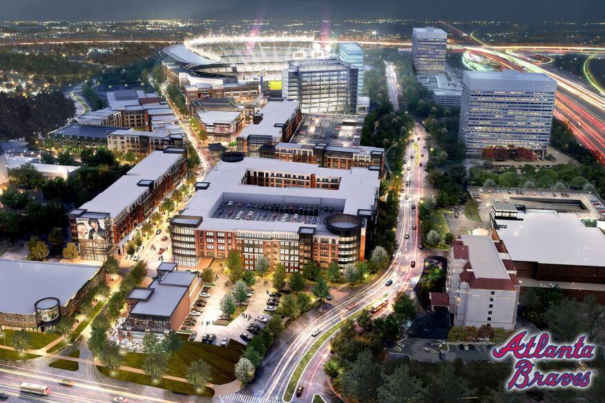 Wakefield Beasley & Associates Designing Atlanta Braves