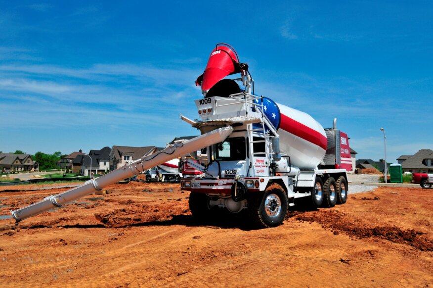 129db673a5dc Terex Shuffles Mixer Truck Business