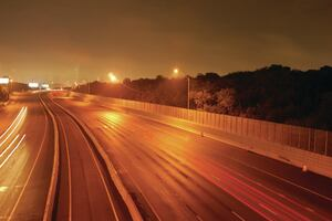 Transparent barriers mitigate highway noise| Concrete