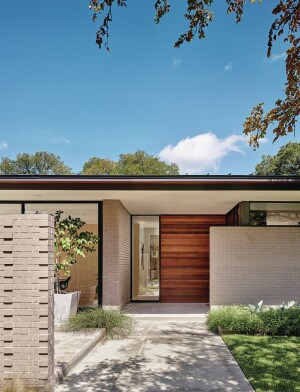 Austin Spec Home is Midcentury Modest | Builder Magazine | Design ...