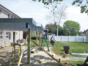 Framing Decks With Steel Joists Professional Deck Builder