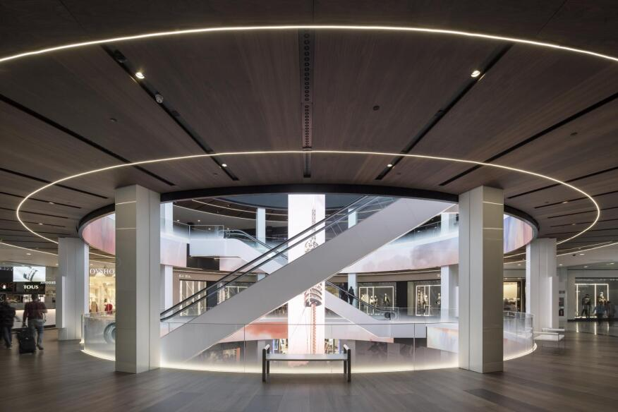 2019 al design awards centro comercial diagonal mar in barcelona spain architectural - Centro comercial illa diagonal ...