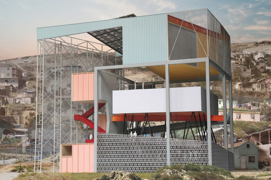 Ucsd cross border community station a public space that educates by