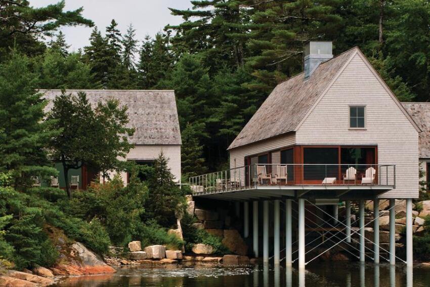 Matt elliott residential architect for Maine residential architects