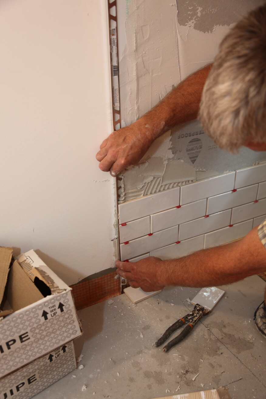 Tiling A Walk In Shower Chapter 6 Wall Tile