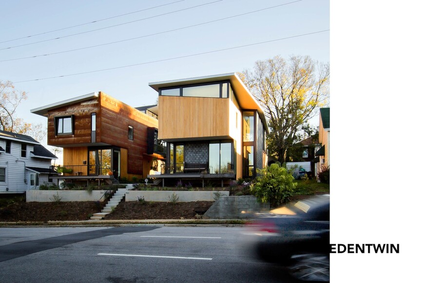 edentwins residential architect the raleigh architecture company