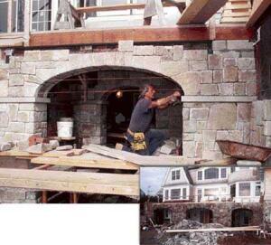 building stone arches jlc online concrete masonry construction