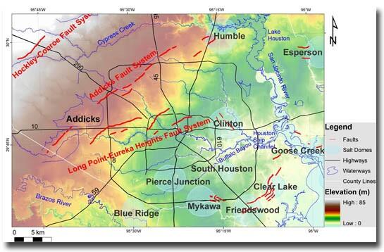 No Fault In Texas Fault Line Lawsuit JLC Online Foundation - Texas elevation map