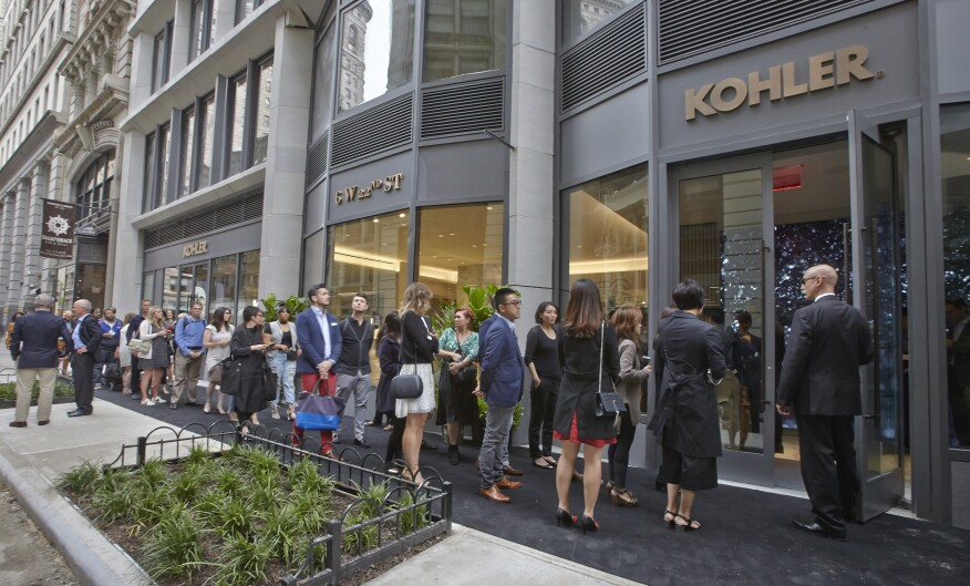 Kohler Launches NYC Experience Center | Builder Magazine | Design ...