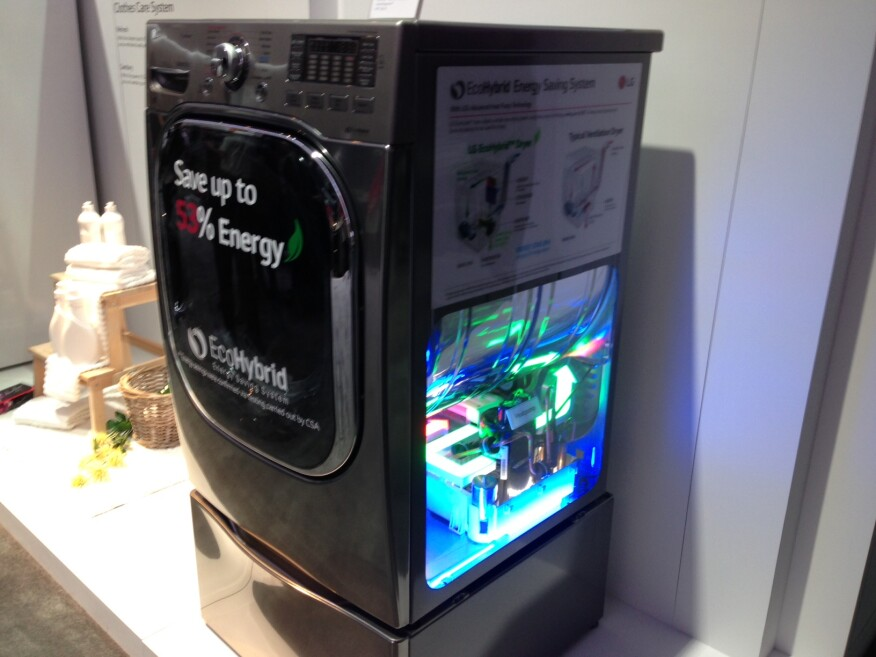 Laundry Gets The High Tech Treatment At Ces 2015
