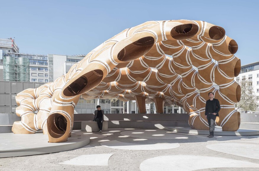 ICD ITKE Research Pavilion 2015 16