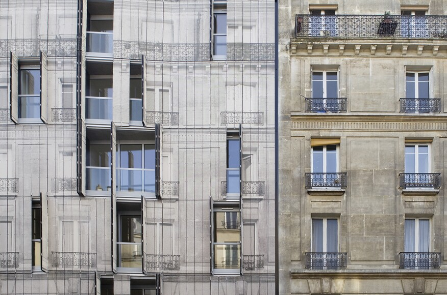 Haussmann Stories | Architect Magazine | Chartier-Corbasson ...