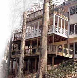elevated decks professional deck builder framing multi level