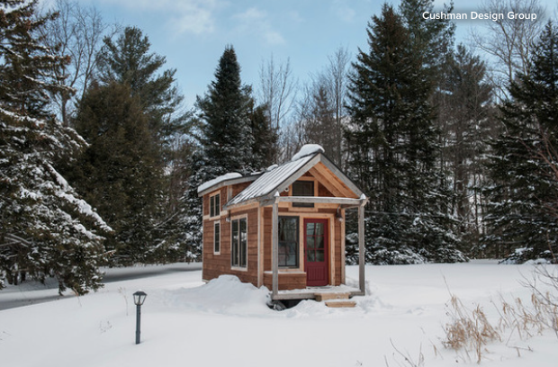 tiny house vermont. A Tiny House In The Vermont Mountains