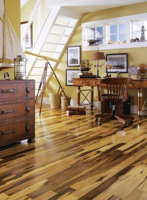 The Exotic Look Of Tortoise Shell Is Reimagined In Macchiato Pecan And Cabernet Hardwood Flooring Available A Range Styles Profiles