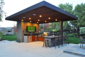 2014 Custom Home Design Awards Merit Winner, El Pintado Pool ...