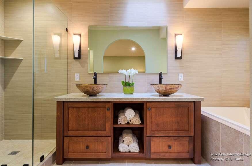 Yoko Oda Interior Design | Zen Bathroom | Walnut Creek, CA ... Zen Bathroom Interior Design on asian bathroom design, modern bathroom interior design, powder room interior design, bathroom with black accents,