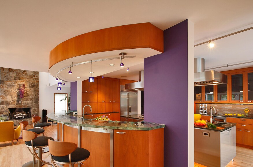 Center Stage Kitchen Architect Magazine Alex Esposito Aia Architects Weston Ct United