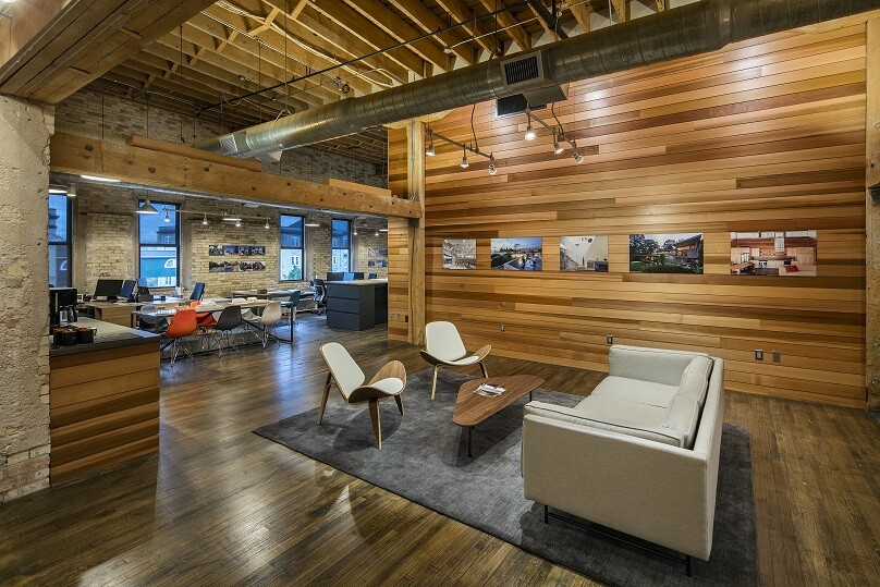 Mma office renovation architect magazine mathison i for Architects in grand rapids mi