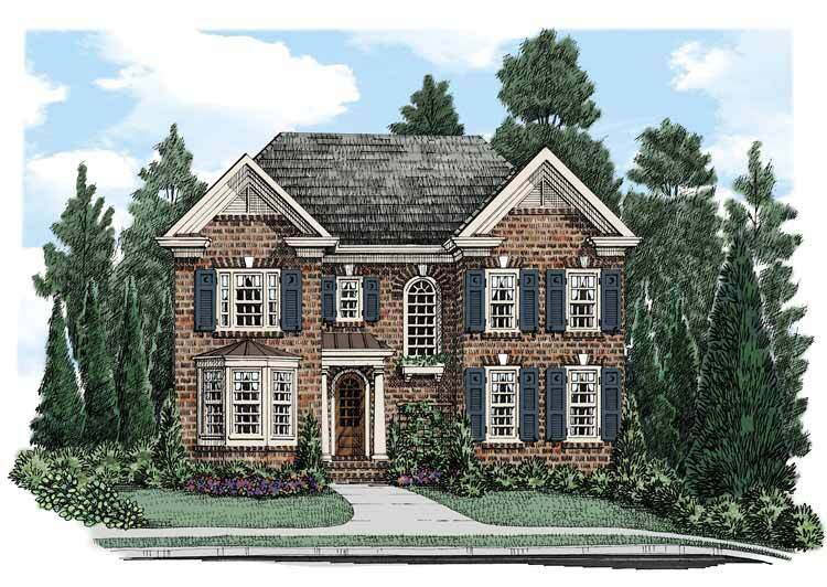 Must-See House Plans that Maximize Move-Ups for Narrow Lots ... on traditional house plans, rock and brick home plans, split floor plan house plans, block house plans, one story mediterranean house plans, new orleans style house plans, 2 bath house plans, open floor plan house plans, southern brick home plans, 2 story brick home plans, low maintenance house plans, houses ranch style house plans, brick and stone home plans, residential house plans, american house plans, luxury house plans, country house plans, aluminum house plans, screened porch house plans, luxury brick home plans,
