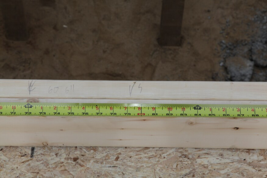 Layout for Exterior Wall Framing | JLC Online | Framing, Measuring ...