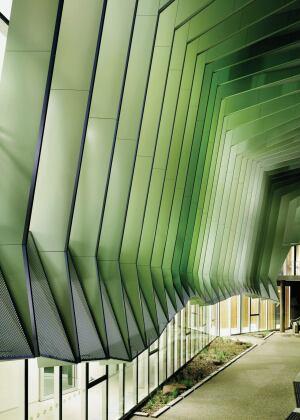 Blades Of Green Architect Magazine Walls Metal
