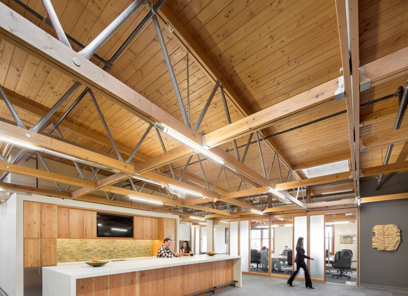 construction office renovation architect magazine holst