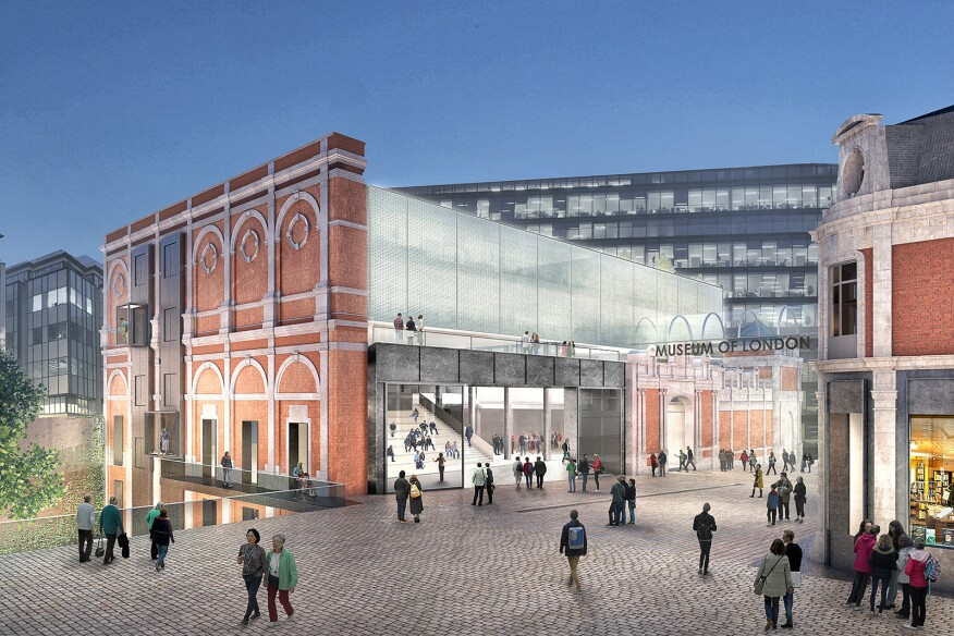 stanton williams and asif khan to design the new museum of london