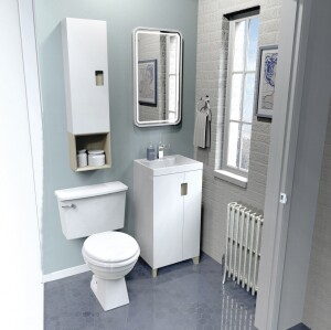 A Bath Suite To Fit Small Es Jlc