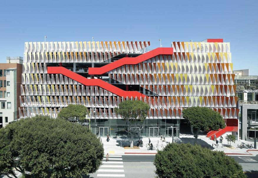 Santa Monica Public Parking Structure 6 Behnisch Architekten Studio Jantzen