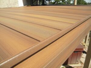 Edge Detail For Ced Composite Decking