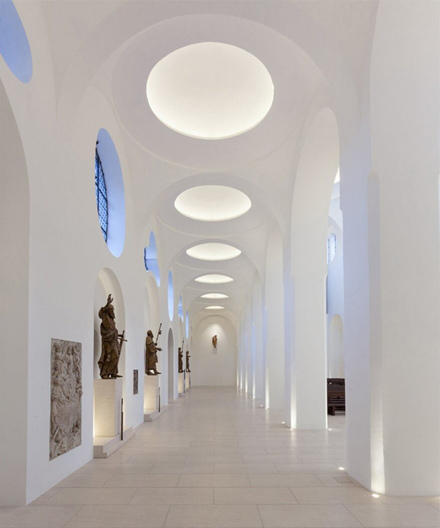 2014 al design awards st moritz church augsburg for Interior design augsburg