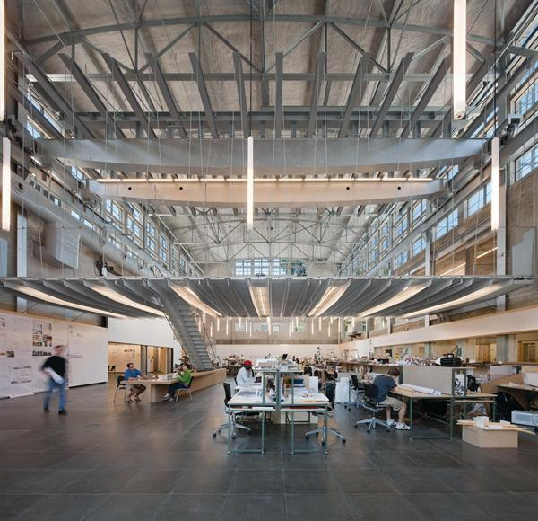 Hinman research building rehabilitation adaptive use for Atlanta residential architects