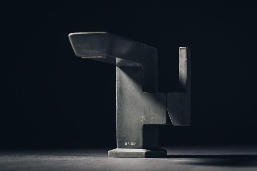 8d75648a66ca4 Six Unexpected Concrete Products   Architect Magazine   Products, Design,  Concrete, Furniture, Bath, Bathroom Faucets