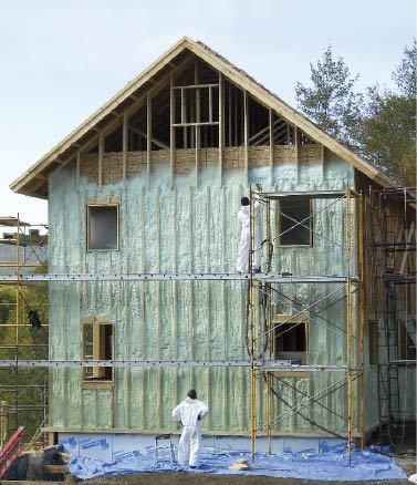 Insulating With Exterior Spray Foam Jlc Online