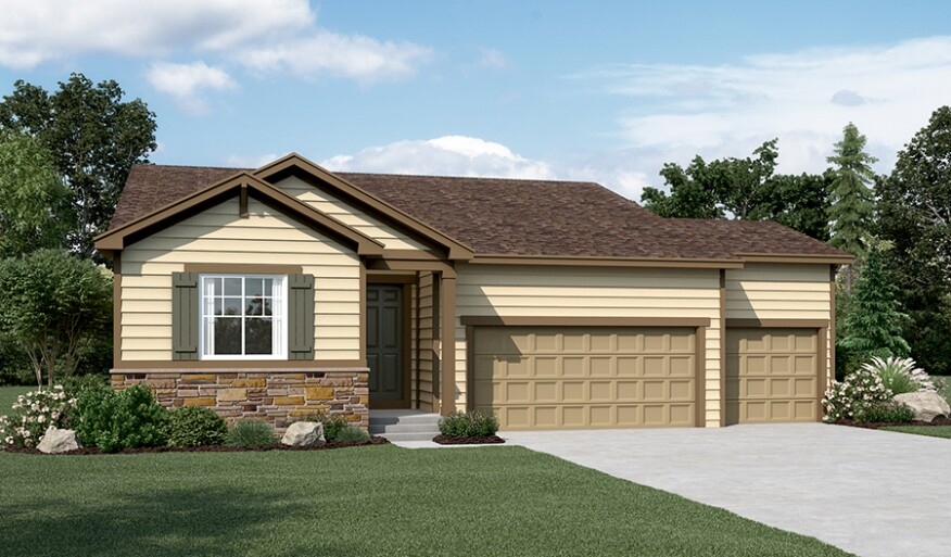 Richmond american adds new seasons model to colorado for Richmond homes ranch floor plans