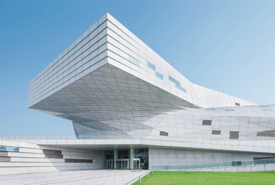 taiyuan museum of art designed by preston scott cohen architect