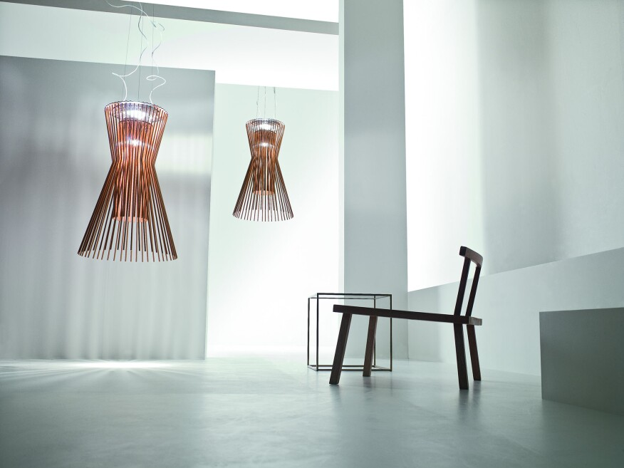 Stylish led lamps take sustainable design to the next level