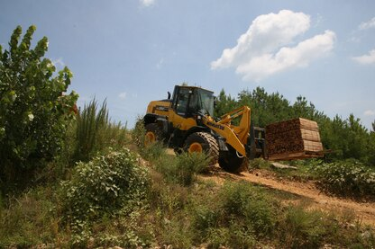 Komatsu America's loader can be used in any application