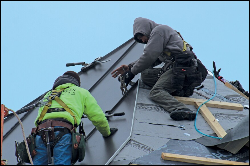 Metal Roofing For A Turret Jlc Online
