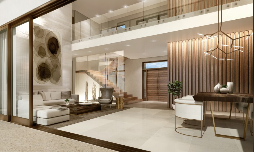 Miami's First 'Tropical-Modern' Residential Community is ... on residential house interior design, tropical modern bathroom, tropical modern decor, tropical modern pillows, tropical modern office, tropical modern architecture, tropical modern kitchen cabinets, tropical modern living room,