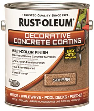 Rust-Oleum Decorative Concrete Coating Concrete Construction Magazine