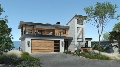 Luxurious Modern House Plans From, Luxury Contemporary Home Plans